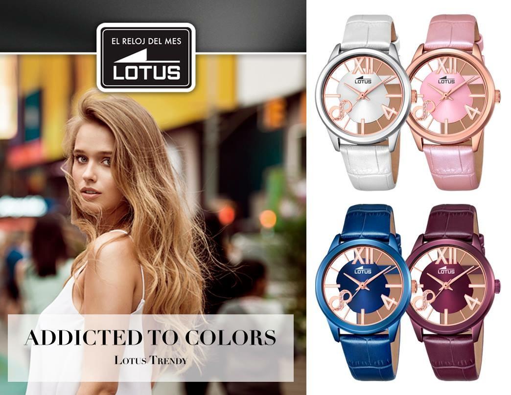 Reloj Lotus del mes de Agosto-2016