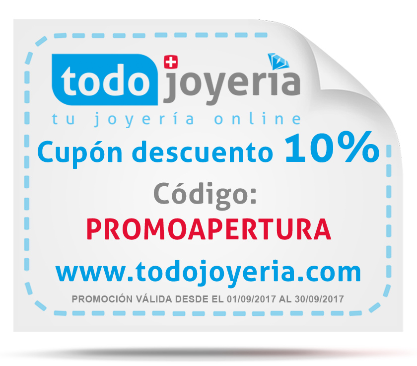 PROMOCIÓN DE APERTURA: Cupón de descuento del 10%