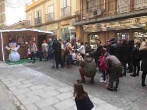 Papá Noel ha venido a Joyería Virgen del Rocío en Castilleja