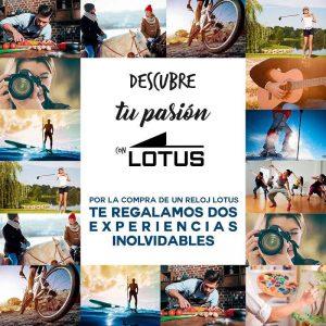 NUEVA PROMOCIÓN: ¡Descubre tu pasión con Lotus Watches!